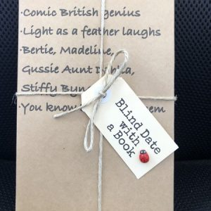 BLIND DATE WITH A BOOK: Comic British genius