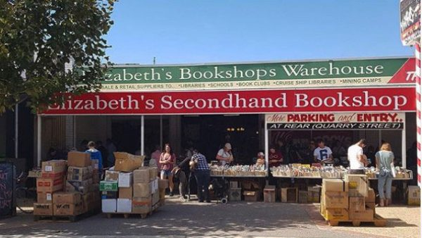 Elizabeths Bookshop Warehouse - Queen Victoria St. Fremantle WA