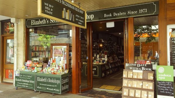 Elizabeths Bookshop - Hay St. Perth WA